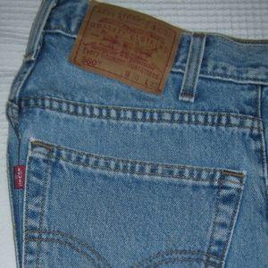 Levi's Jeans - Levis Jeans 560 Comfort Loose Fit Tapered Leg Blue